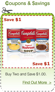 Easy Frugal Living Campbell S Cooking Soup Recipes Amp 1 2 Printable Coupon