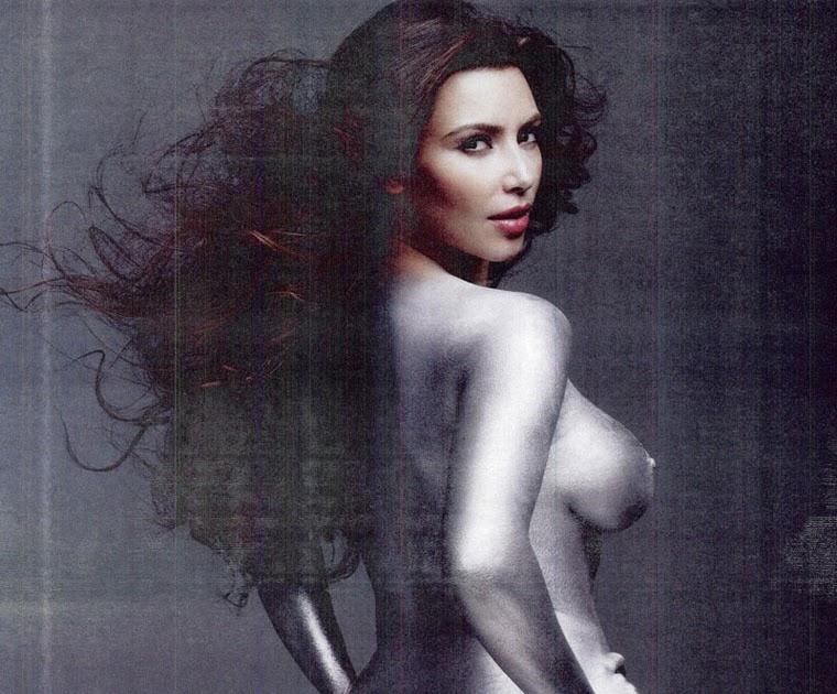 All The Naked Kim Kardashian Photos That Broke The Internet
