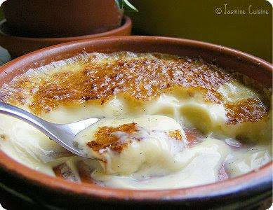 crème brulée français anglais