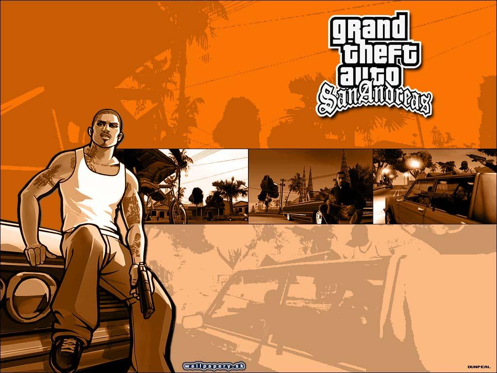 Grand Ft Auto San Reas GTA