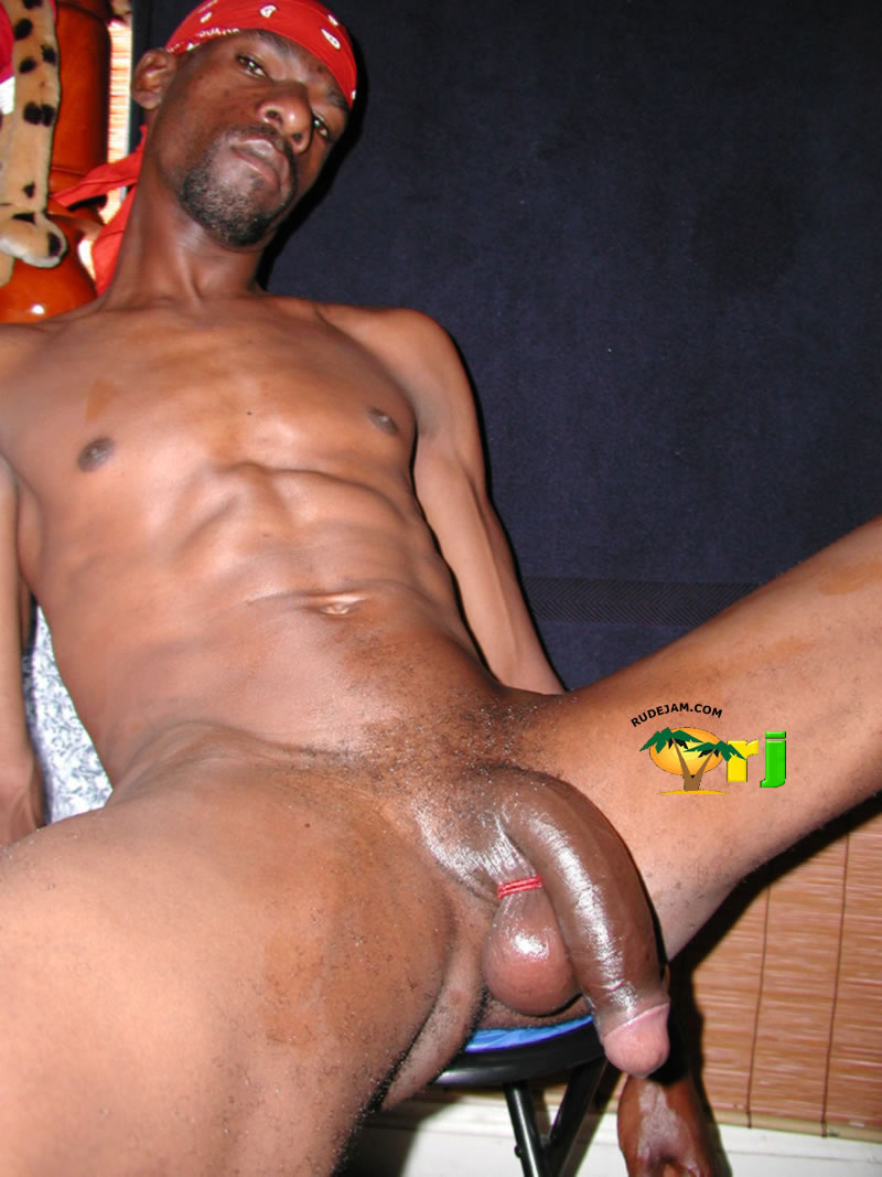Jamaican Rasta Big Dick Gay-8691