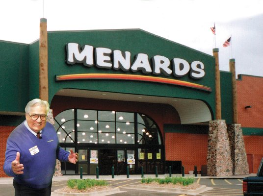 Menards Address