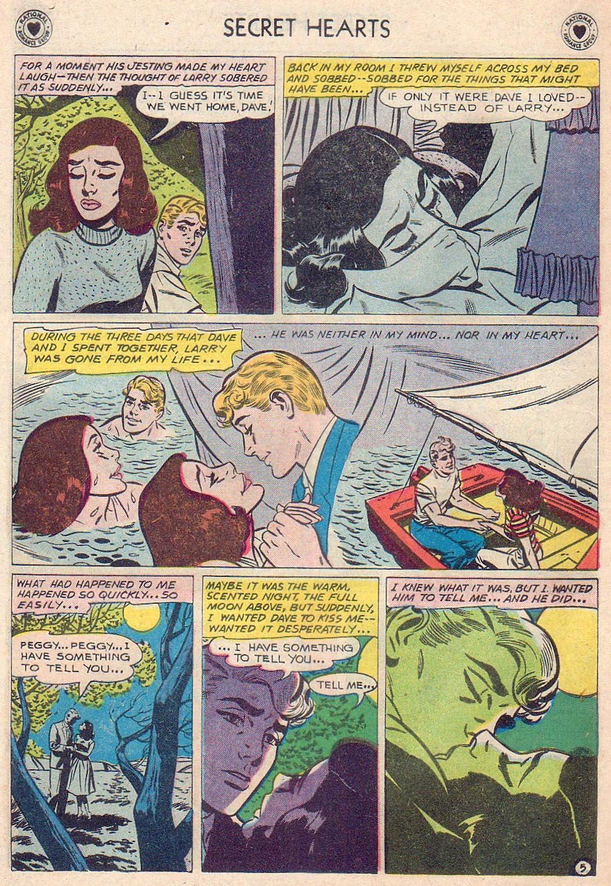 Read online Secret Hearts comic -  Issue #61 - 22