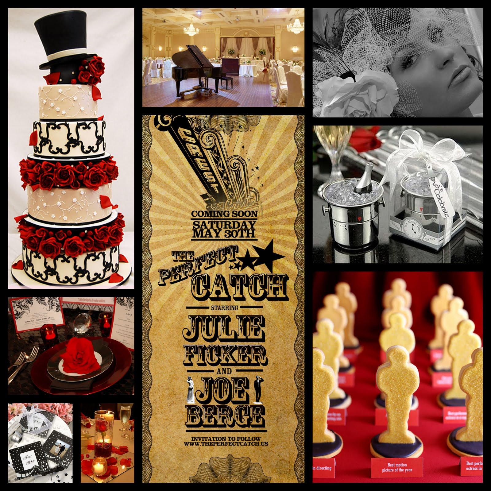 Premier Bride Magazine: Texas: Wedding Themes: Old Hollywood