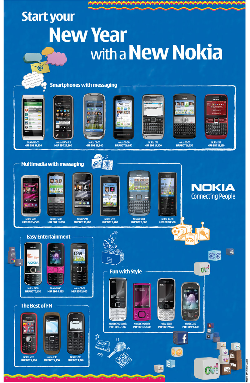 Mobile price in bangladesh with latest nokia phone