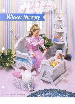 habitacion de bebe  labores de esther todo para barbie