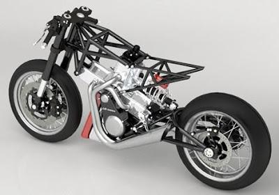 asad: JJ2S X4 500 - 4 Cylinder 2 Stroke Concept Motorcycle