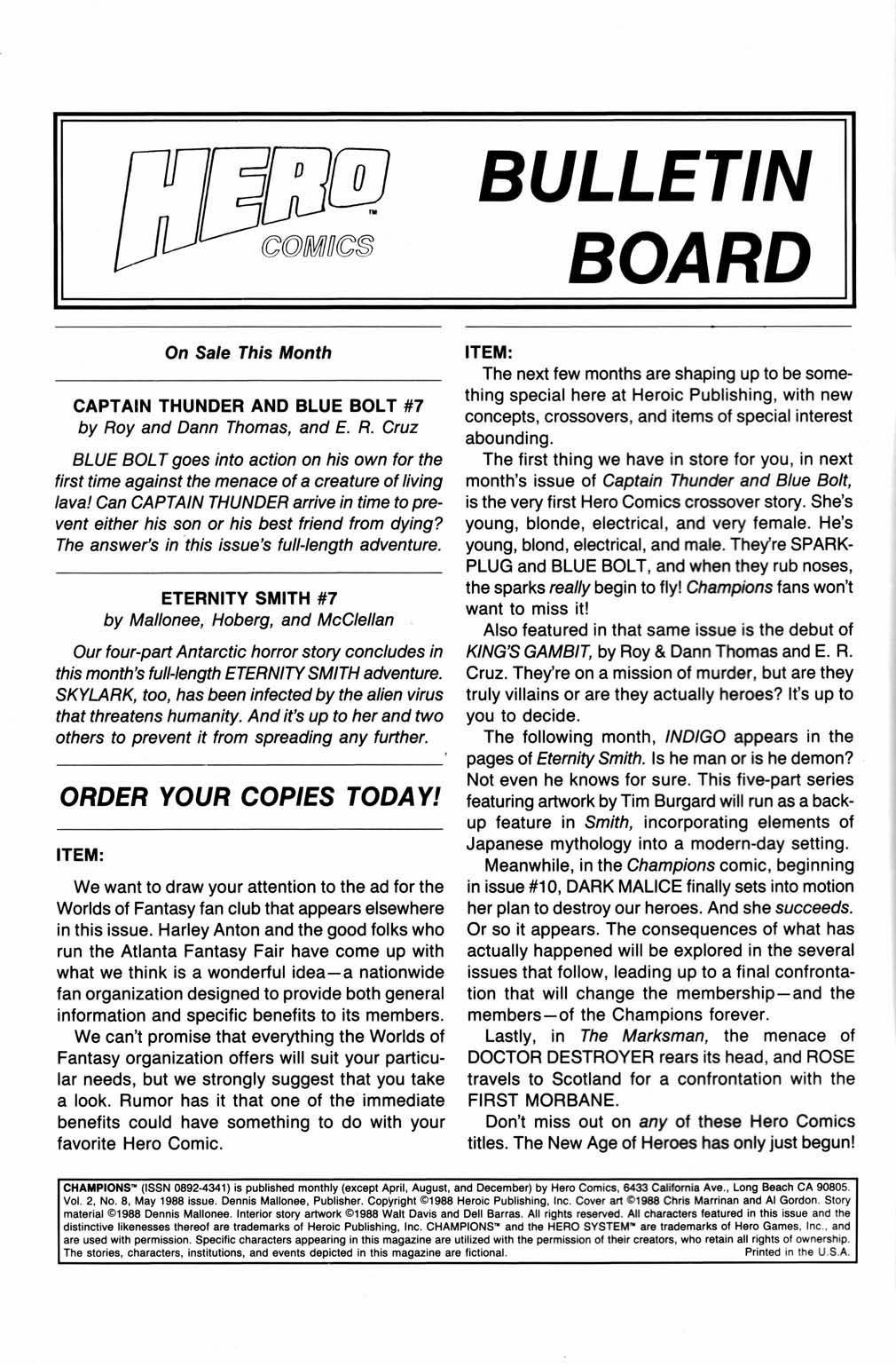 Champions (1987) 8 Page 2