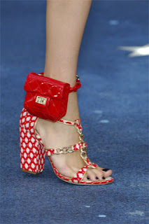 FUTURISTIC TREND; CHANEL ANKLE BAG, spring 2008