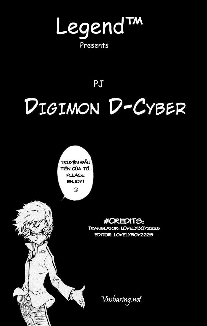 Digimon D-Cyber chap 1 - Trang 1