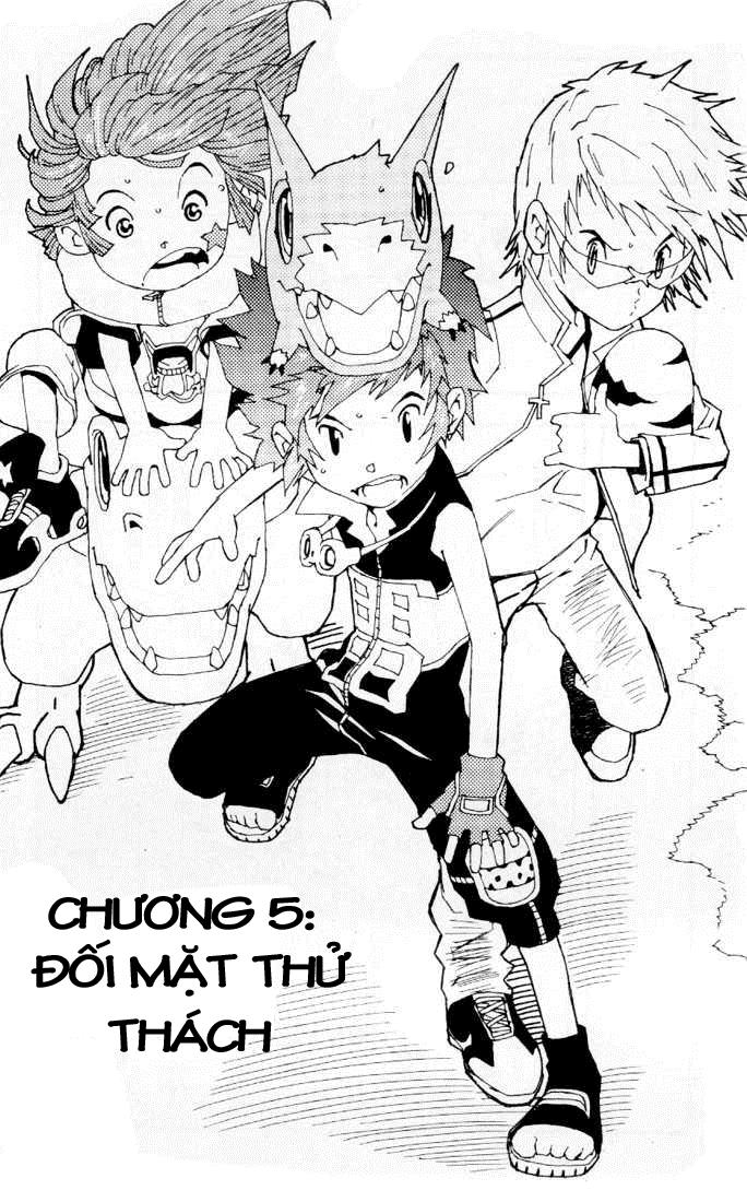 Digimon D-Cyber chap 1 - Trang 2