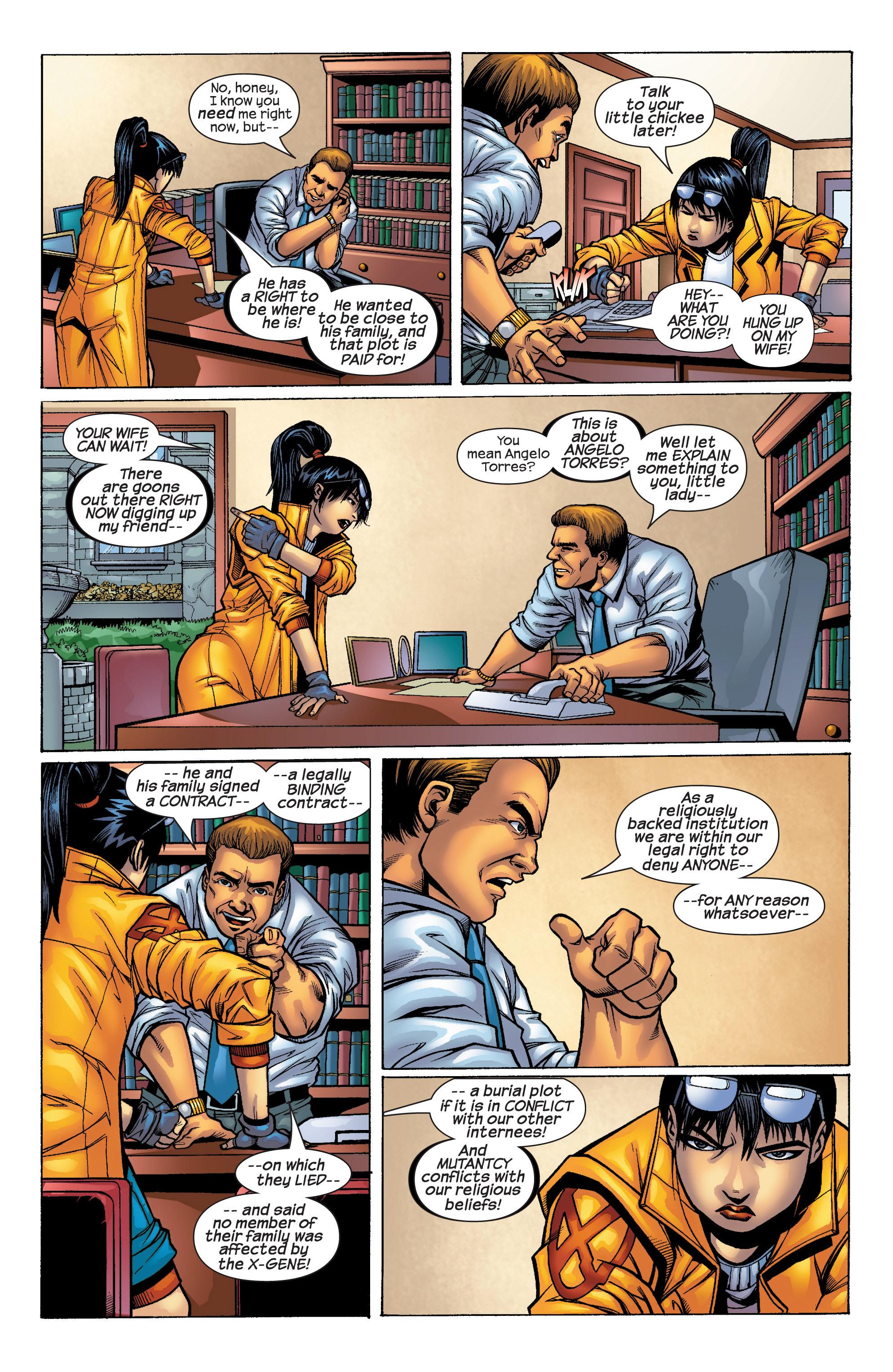 Read online Uncanny X-Men (1963) comic -  Issue #427 - 12