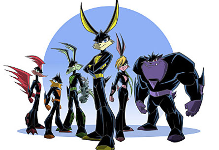 loonatics unleashed coloring pages - photo#9