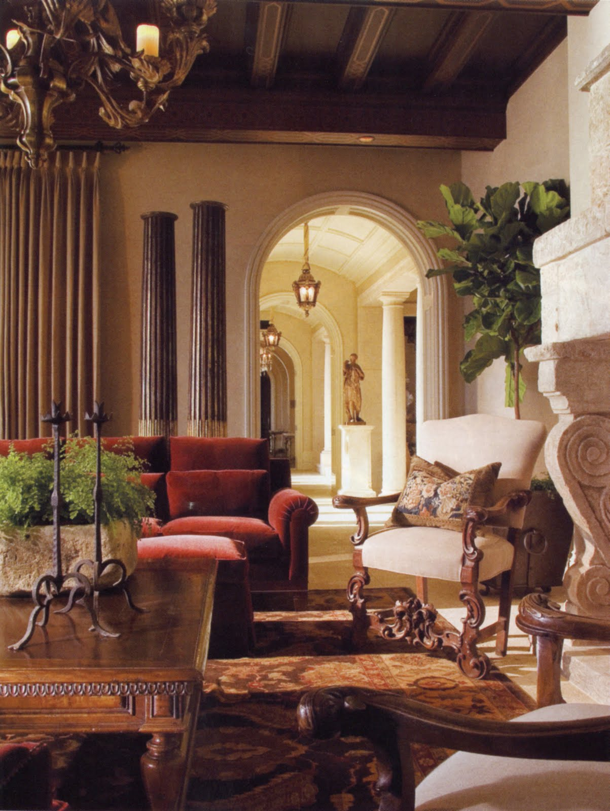 Architectural Digest: Phoenician Stone, Since~1943~: As Seen In Architectural Digest
