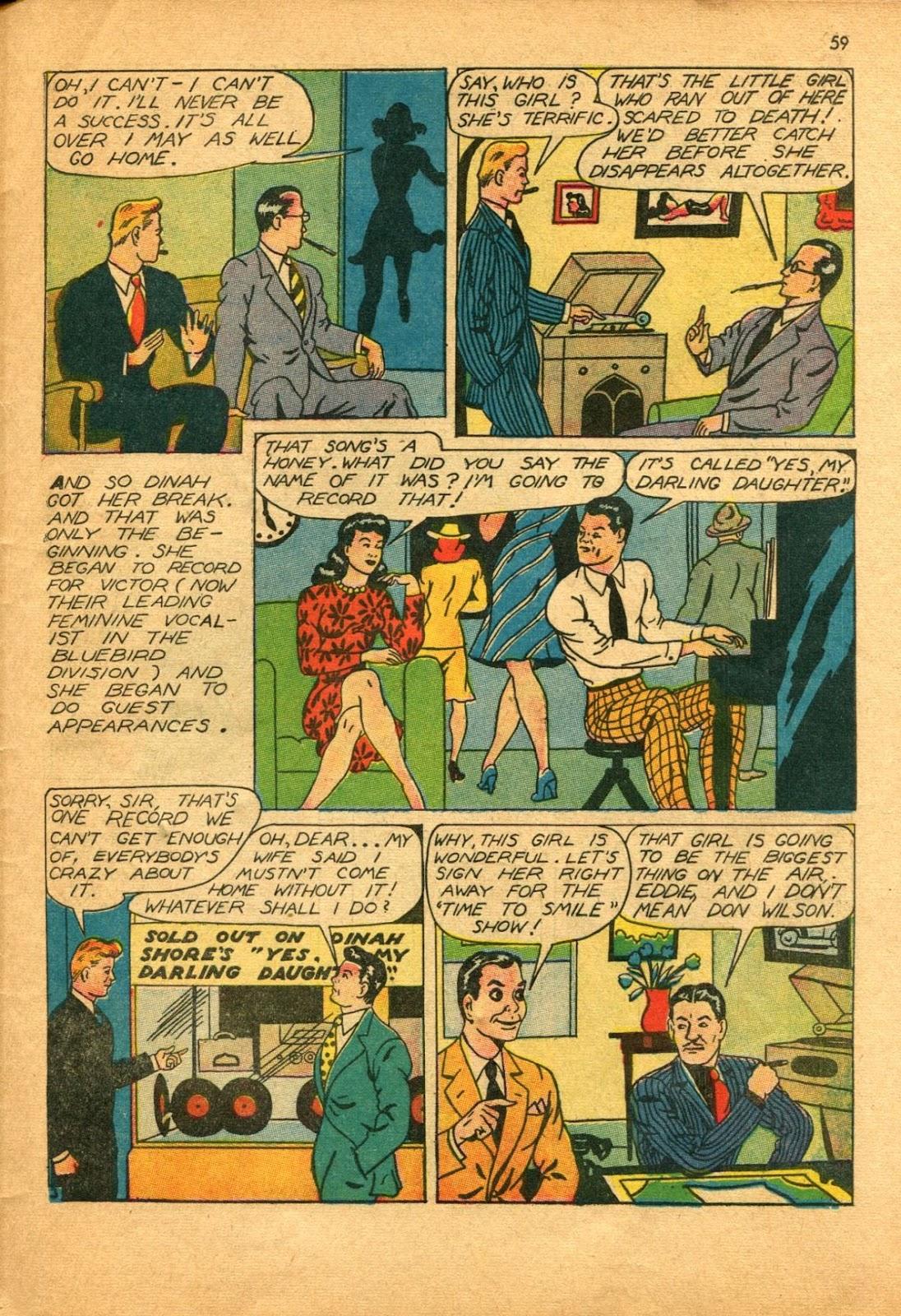 Read online Super-Magician Comics comic -  Issue #11 - 59