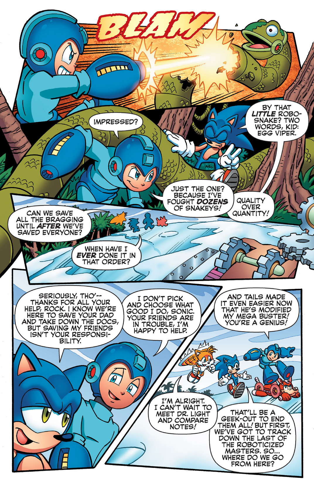 Read online Sonic Mega Man Worlds Collide comic -  Issue # Vol 2 - 61