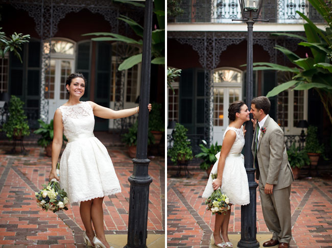 Bright Smile: New Orleans Wedding