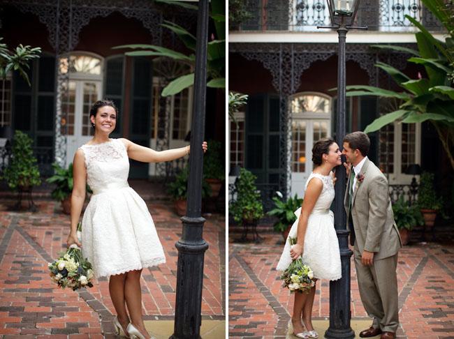 Bright Smile: New Orleans Wedding