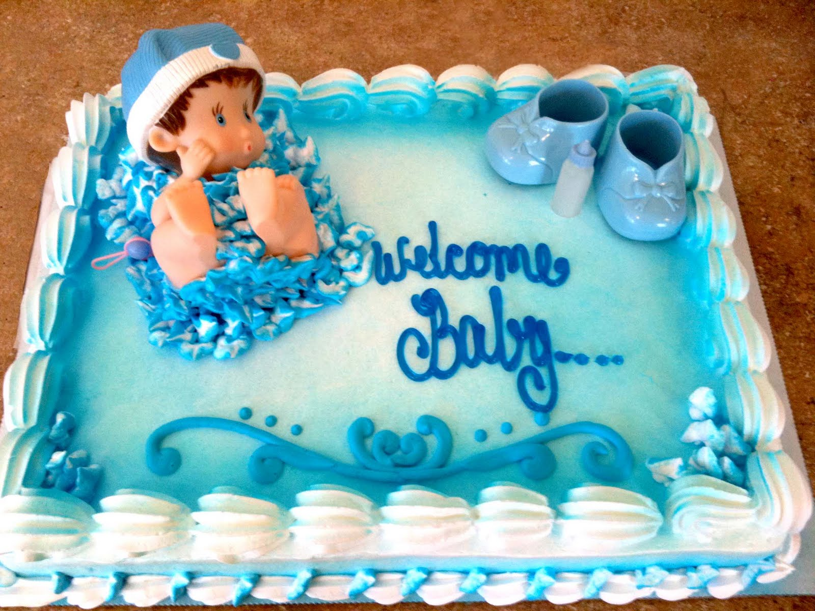 Costco Baby Shower Cake Designs