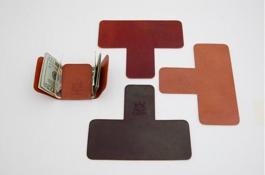 ac72a0ea632 Carteira de couro minimalista