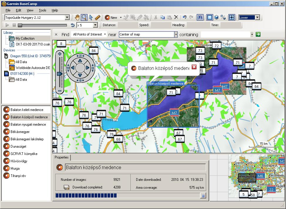 európa térkép letöltés gps re Garmin műholdkép letöltés GPS re a BaseCamp segítségével | blog  európa térkép letöltés gps re