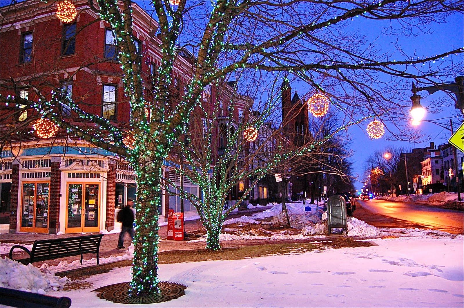 Portland Maine Christmas.Portcitydailyphoto December 2010