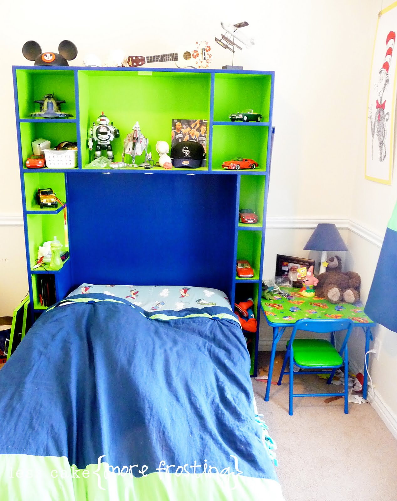 Remodelaholic boys bedroom interior design makeover for Bedroom 7 year old boy