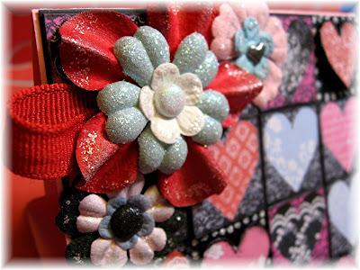 easel card embellishments