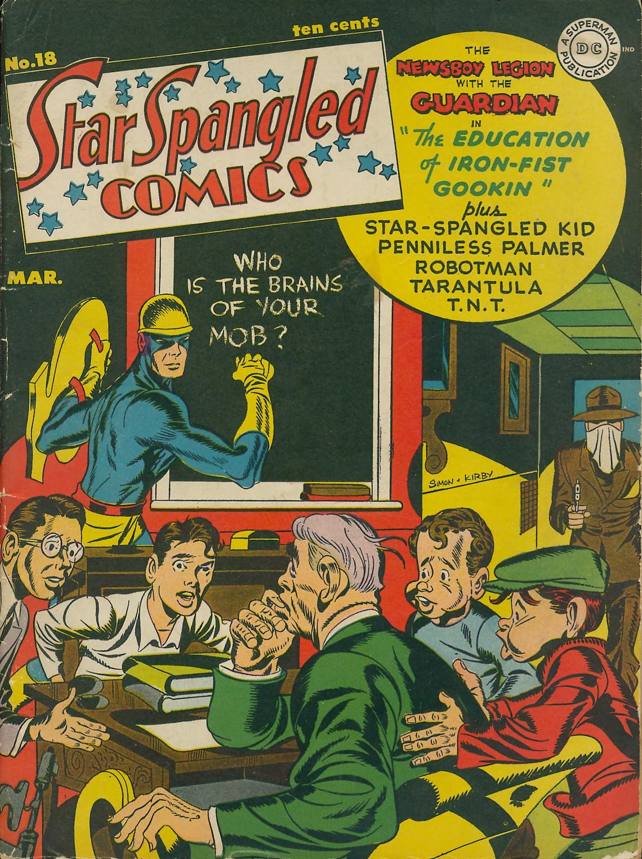 Star Spangled Comics (1941) 18 Page 1