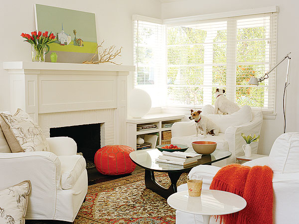 Wall Colour Inspiration: Serenity In Design: Family Room Styles