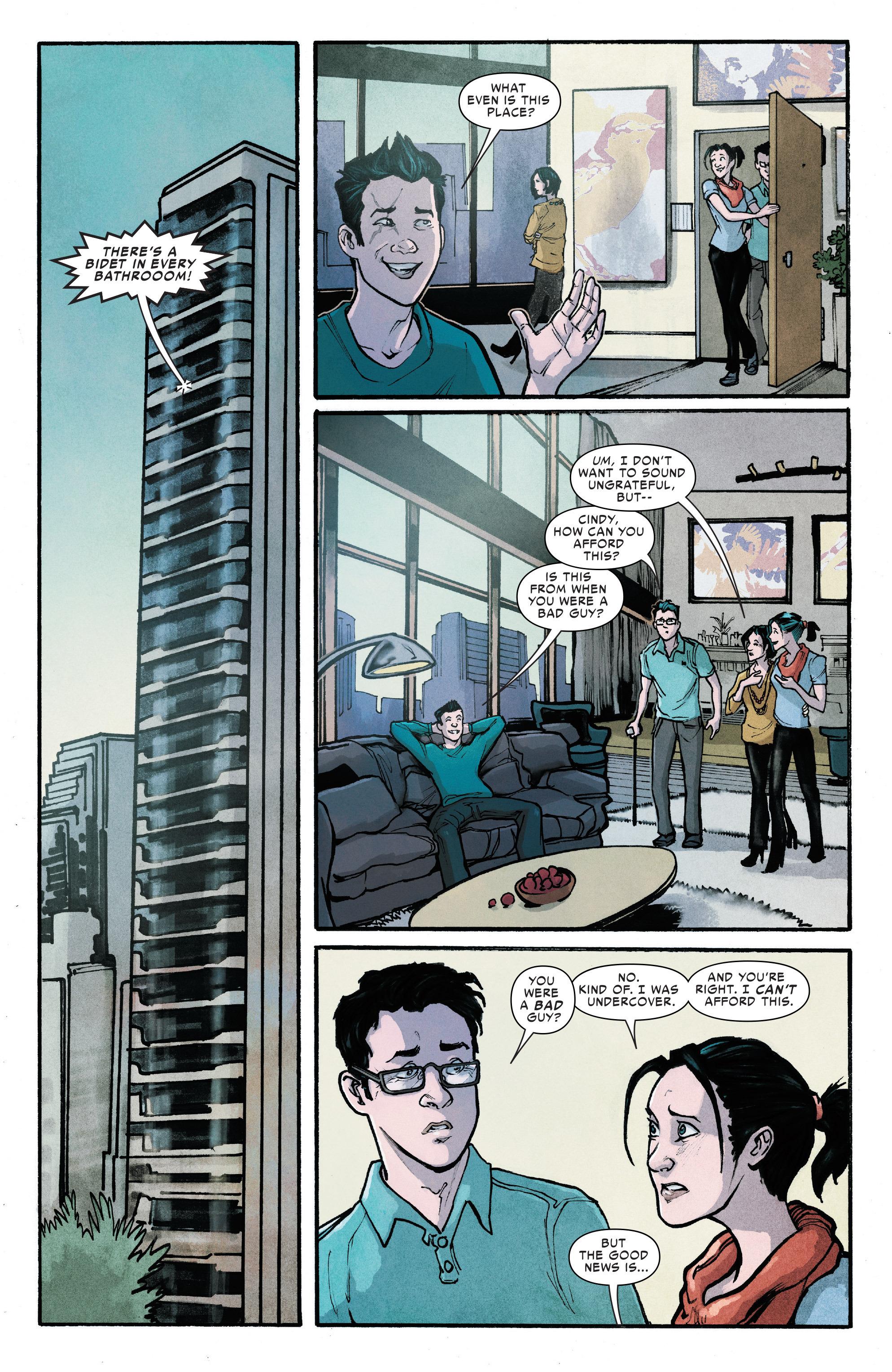 Read online Silk (2016) comic -  Issue #13 - 16