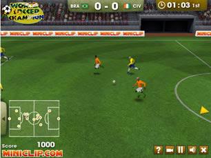 Jogo de futebol todos