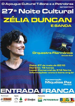 27 05 10 - Açougue T-Bone apresenta Zélia Duncan - Brasília DF 943ebab1eff