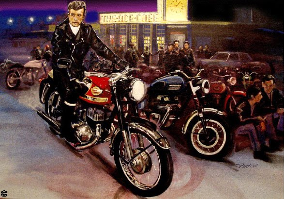 My Royal Enfields James Dean On A Royal Enfield