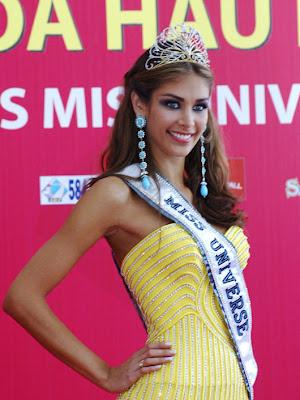 Diana Mendoza Miss Universe Photos