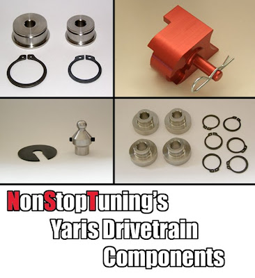 NonStopTuning Drivetrain Parts for Yaris