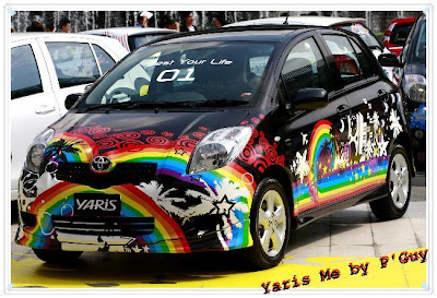 Yaris Wrap Me Contest