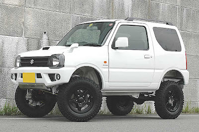 modified Suzuki Jimny