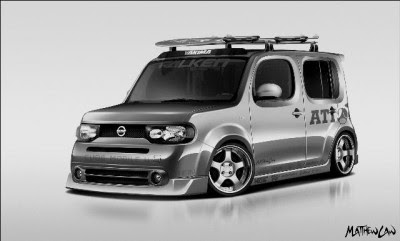 Bean Garage Nissan Cube Project