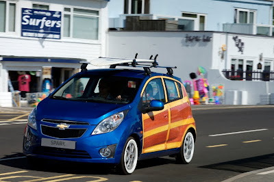 Chevrolet Spark Woody Art Car - Subcompact Culture