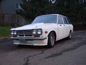 1970 Datsun 510 with Ford V-6