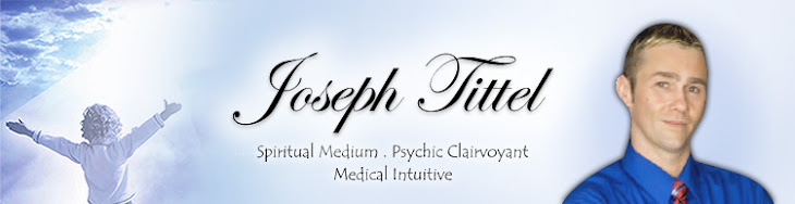 Psychic Medium & Author Spiritman Joseph Tittel: Magical