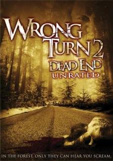capa Wrong Turn 2   Floresta do Mal