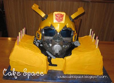 Food Recipes Bumblebee Transformer Cake