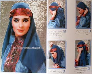 Model Hijab Ala Arabian Sangat Anggun dan Cantik