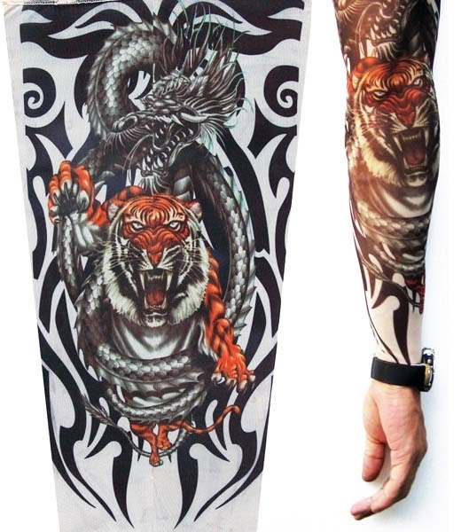 Rockersleeve: Tiger & Dragon