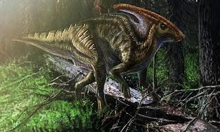 塗龍者隨筆: 幾幅鳥盆目恐龍