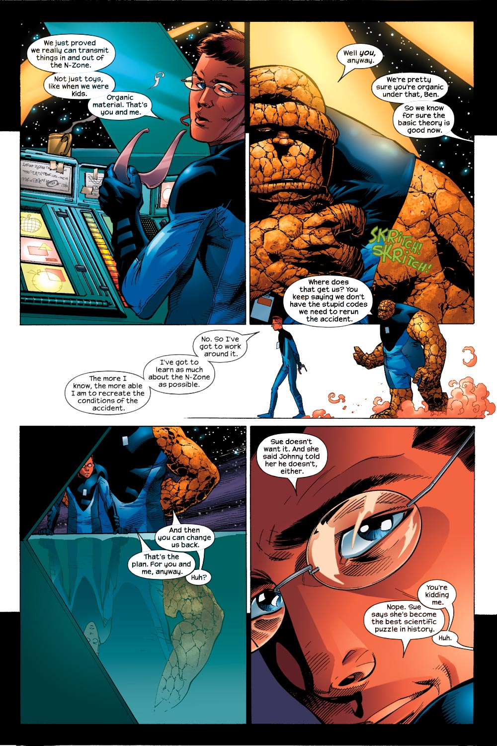 Read online Ultimate Fantastic Four (2004) comic -  Issue #13 - 8