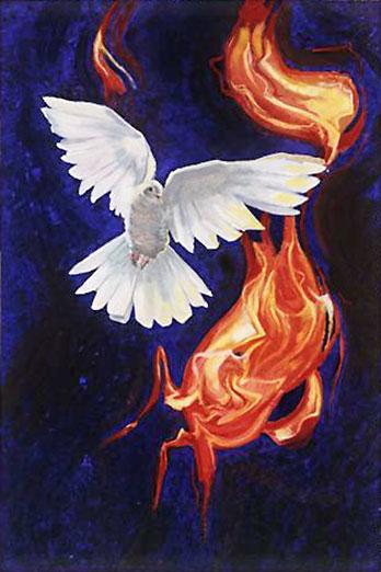 Welcoming our Companion -- A Pentecost Sermon