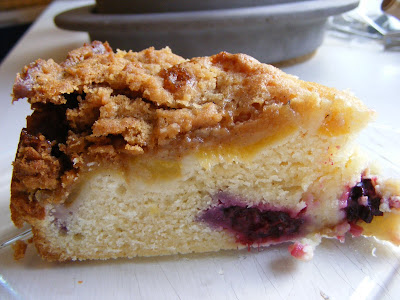 Southern Living Blackberry Peach Coffee Cake Recipe